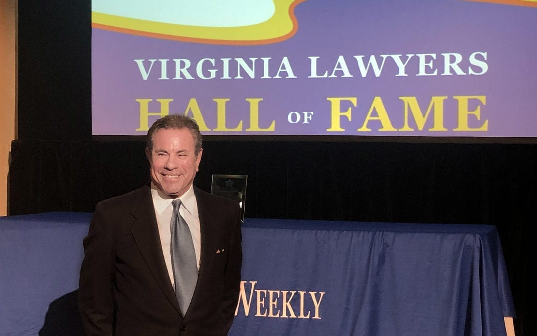Attorney Stephen M. Smith Inducted into the VA Lawyers Hall of Fame